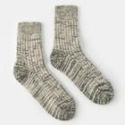 Socks women's wool Collorista, size 25, color dark gray