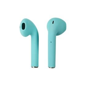 Wireless headphones i12, in-ear, Bluetooth 5.0, color mint.
