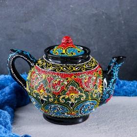 Чайник 1л Самарканд, цвет в ассортименте