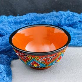 Пиала 11см/ 200мл Самарканд Риштанская Керамика, цвет в ассортименте