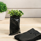 Package for seedlings 0.3 l, 10 x 15 cm, 50 µm, perforated, packing 100 PCs, black