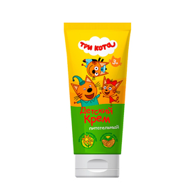 Baby cream Three cats, nutritious, 100 ml