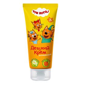 Baby cream Three cats, moisturizing, 100 ml