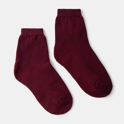 Women's Terry socks Collorista, size 25, color Bordeaux