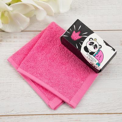 """Terry towel """"Vzhuh"""" 30x30 cm, 100 cotton, 340g/m2"""