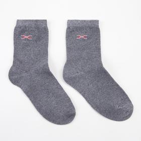 Носки детские, цвет серый, размер 20