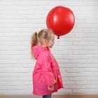 Дождевик детский на кнопках с капюшоном «Уточка» р-р XL - фото 105568408