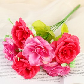 "A bouquet of ""Roses bicolor"" is 26 cm, mix"
