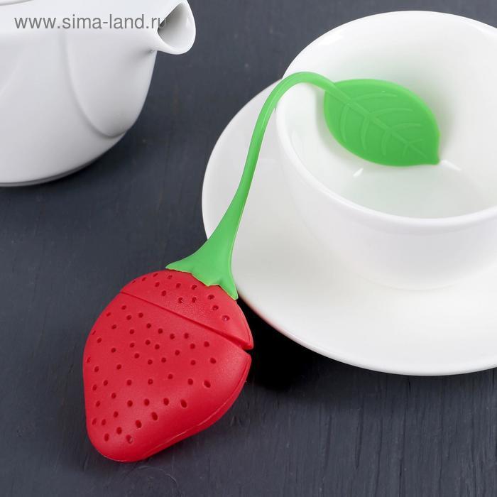 "Tea strainer 19х5 cm ""Strawberry"""