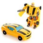 Робот «Автобот», трансформируется, цвета МИКС - фото 105506585