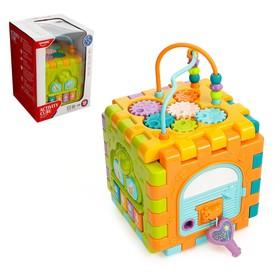 Развивающая игрушка «Логический куб», световые и звуковые эффекты