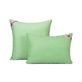 Подушка, размер 40 × 60 см, силиконизированное волокно, холлофайбер