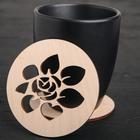 "Stand for a mug ""Flower"""