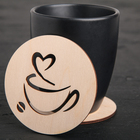 """Stand for a mug """"Cup of coffee"""""""