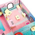 «Кукольный дом» из картона, кукла и аксессуары - фото 105511745
