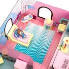 «Кукольный дом» из картона, кукла и аксессуары - фото 105511746