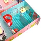 «Кукольный дом» из картона, кукла и аксессуары - фото 105511747