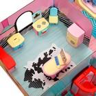 «Кукольный дом» из картона, кукла и аксессуары - фото 105511748