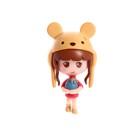 «Кукольный дом» из картона, кукла и аксессуары - фото 105511749