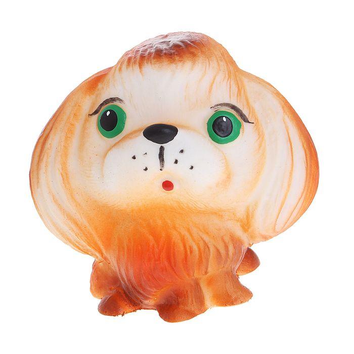 """Резиновая игрушка """"Собака Пекинес"""""""