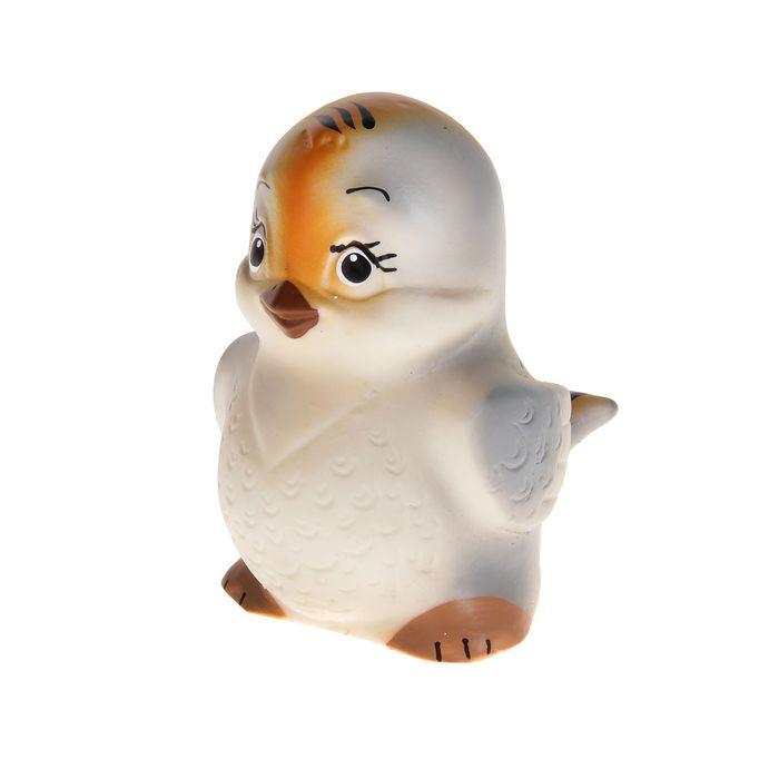 Резиновая игрушка «Воробышек»