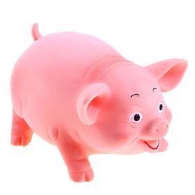 Резиновая игрушка «Свинка»