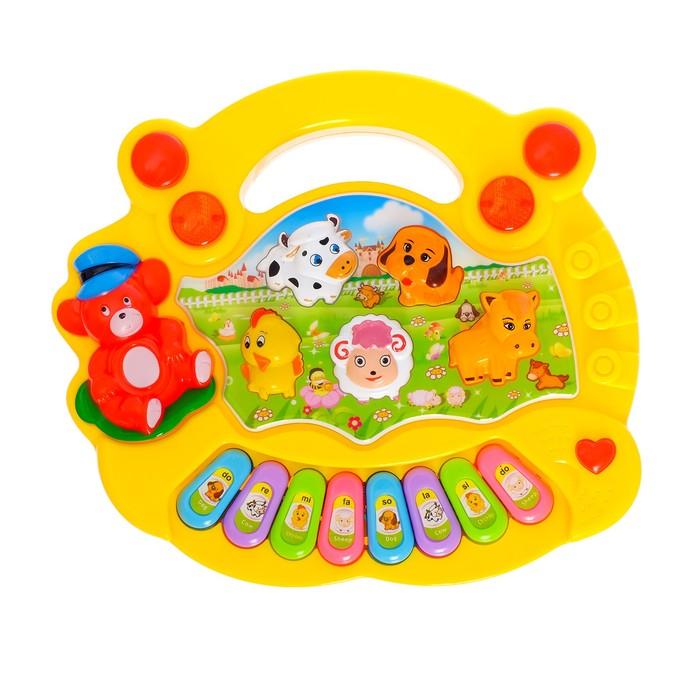 Музыкальная игрушка-ионика «Зверята», звуковые эффекты