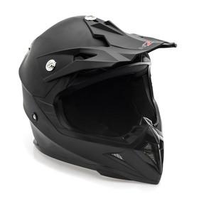 Шлем HIZER 615-2, размер L, чёрный матовый