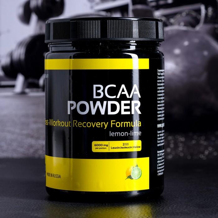 Аминокислоты XXI век BCAA powder со вкусом вишня со вкусом лимон-лайм,350 г