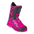Ботинки FXR Helium Lite BOA с утеплителем, размер 38, фиолетовый, чёрный