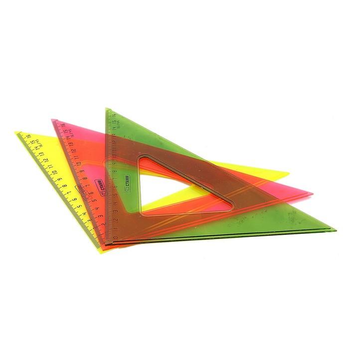 Треугольник 16 см 45* «Стамм» NEON Cristal, микс