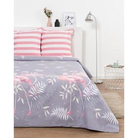 Постельное бельё Дуэт Эталоника Фламинго роз 150х215см - 2 шт