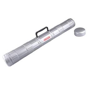 Тубус с ручкой, диаметр 90 мм, длина 680 мм, серый
