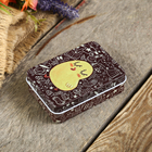 "Box metal rectangular ""Chicken"" 3x9,3x6,8 cm"