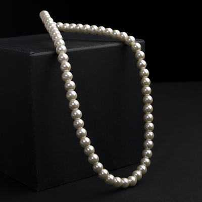 Beads pearls Bride beads d=1, the color of milk