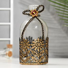 Bottle for essential oil / decor glass