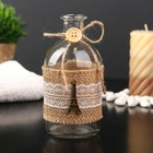"Bottle for essential oil/glass decor ""Eiffel tower"" transparent 200 ml 13,5х6х6 cm"