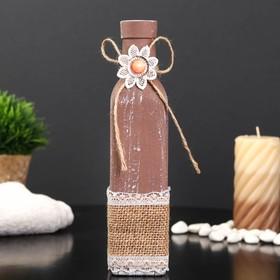 Bottle for essential oil / decor glass