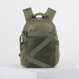 4918 p900 Backpack mole 28 * 18 * 40, separate with a zipper, 5 n / pockets, khaki