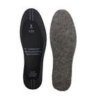 Стельки зимние для обуви ShoExpert Felt, дезодорирующие, безразмерные
