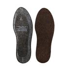 Стельки зимние для обуви ShoExpert Filc, адсорбирующие, безразмерные