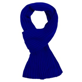 Шарф Stripes, цвет ярко-синий в Донецке