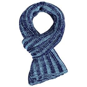 Шарф Chain Multi, цвет сине-голубой в Донецке