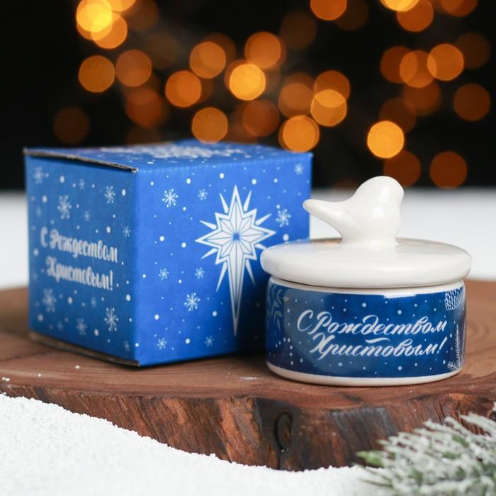 Шкатулка «Сeребряное Рождество»