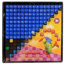 Настольная игра «Эрудит», 131 синяя фишка
