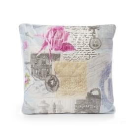 Подушка «Файбер ультрастеп», размер 38х38 см, цвет МИКС, полиэфирное волокно
