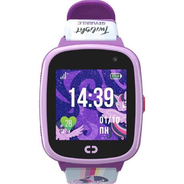 """Смарт-часы Jet Kid Twilight Sparkle, 40мм, 1.44"""", фиолетовый"""