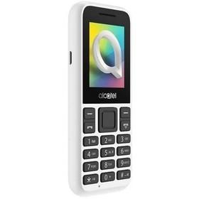 """Мобильный телефон Alcatel 1066D, 2Sim, 1.8"""", 0.08Mpix, microSD, белый"""