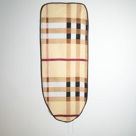 Чехол для гладильной доски Доляна, 130×50 см, подкладка войлок