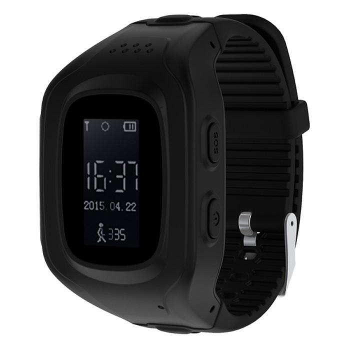 "Смарт-часы Jet Kid Next, 54мм, 0.64"", OLED, черный"